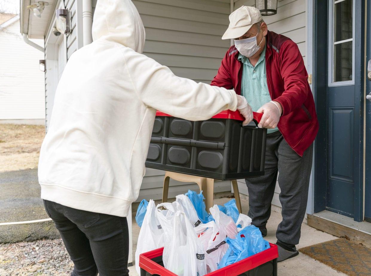 helping seniors pandemic